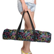 Kualitas Tinggi Tahan Lama Portable Tahan Air Yoga Pilates Mat Carrying Bag Backpack