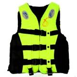Harga Hign Kualitas S 3Xl Dewasa Life Jacket Lifesaving Berenang Perahu Berlayar Rompi Whistle Kuning S Internasional Baru