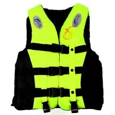 Spesifikasi Hign Kualitas S 3Xl Dewasa Life Jacket Lifesaving Berenang Perahu Berlayar Rompi Whistle Kuning S Internasional Yang Bagus