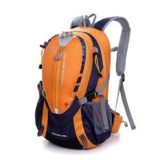 Hiking Bersepeda Backpack Sunhiker 25L Olahraga Tas Backpack Outdoor Menjalankan Camping Ransel Tahan Air Ringan KECIL Daypack (Orange)