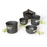 Review Hks Cookware Outdoor Camping Hiking Backpacking Memasak Piknik Bowl Pot Pan Abu Abu Intl Di Tiongkok
