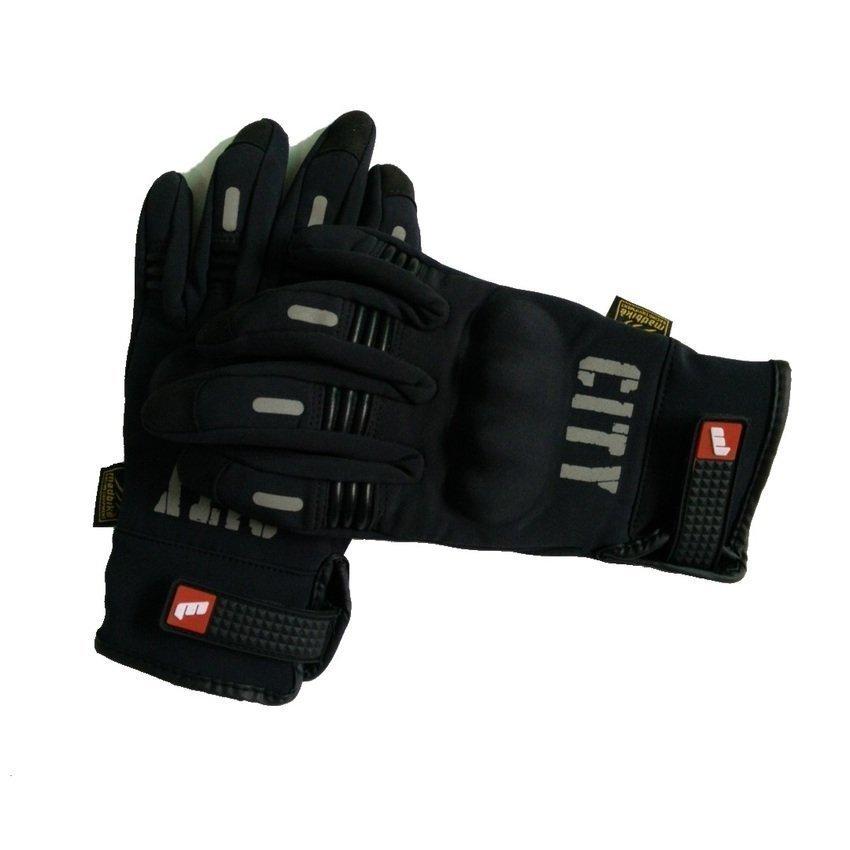 Harga Penawaran HKS Mad sepeda motor MAD-07 sarung tangan - hitam discount - Hanya