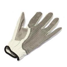HKS Pria Golf Sarung Tangan Wrist Grip Guide Non-slip Kulit Domba Putih Tangan Kiri