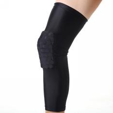 Toko Sarang Bantalan Yg Tahan Pukulan Bola Basket Antislip Kaki Pelindung Lutut Gigi Hitam Xl Termurah