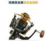 Beli Hot Fishing Reel Lengan Semua Logam 13 1Bb Spinning Fishing Reel Menangani 1000 7000 Seri Gapless Kepala Logam Spinning Wheel Xf7000 Intl Cicilan
