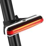Jual Beli Hot Penjualan Usb Rechargeable Bike Tail Light Kuat 100 Lumens Led 5 Mode Berkedip Safety Light Mudah Dipasang Untuk Keselamatan Bersepeda Yang Optimal Lampu Sepeda Belakang Lampu Peringatan Dengan Kabel Usb Gratis Pengiriman Intl Baru Tiongkok
