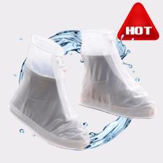 Jual Panas Tahan Lama Ramah Lingkungan PVC Hujan Bot Sarung Luar Ruangan Anti-Air Anti-Selop Hujan Sarung untuk Sepatu XL-Internasional