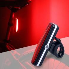 Hot Selling USB Rechargeable Tail Light Sepeda Bersepeda Rear Lamp Taillight Warning Light LED Super Terang Bukti Air Taillight Sepeda Bersepeda USB Pengisian-Intl