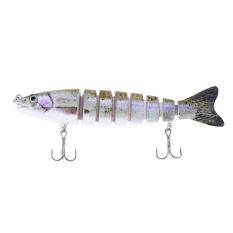 Spesifikasi Hs 006 Minnow 8 Bagian Buatan Fishing Bait Bionic Lure Dengan Hook Warna A Intl Paling Bagus