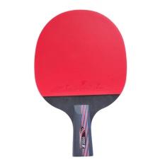 Huoban 6345B 5 Bintang Tenis Meja Ping Pong Paddle Kelelawar Berkualitas Tinggi 1 Piece Pendek Pegangan Racket-Internasional