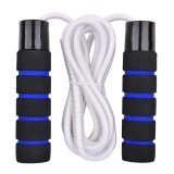 Tips Beli Huoban Q170 Bearing Cotton Jump Rope With Soft Sponge Handle Skippimg Rope Adjustable Skipping Rope Slimming Rope Intl