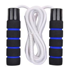 Beli Huoban Q170 Bearing Cotton Jump Rope With Soft Sponge Handle Skippimg Rope Adjustable Skipping Rope Slimming Rope Intl Pake Kartu Kredit