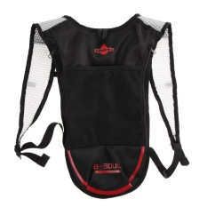 Jual Hydration Pack Backpack For Camping Hiking Cycling Black Red Intl Satu Set