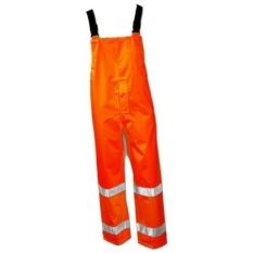 ICON O24129.4X ANSI 107 Class E Breathable Snap Fly Front Overall with 2