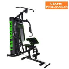 Cara Beli Idachi Home Gym 1 Sisi Box Id804 Life Sports Black