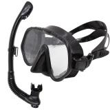 Spesifikasi Ikan Paus Berenang Menyelam Kacamata Pelindung Tabung Pernapasan Masker Snorkeling Set Hitam Dan Harga