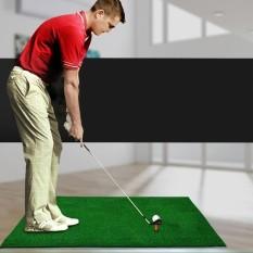 Golf Dalam Ruangan Matras Latihan Eva Bahan Golf Matras Latihan Dengan Tee Regular Edition Ukuran: 30*90 Cm-Intl By Addfun.