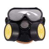 Harga Industri Gas Kimia Anti Debu Cat Respirator Mask Glasses Goggles Set Intl Yang Murah