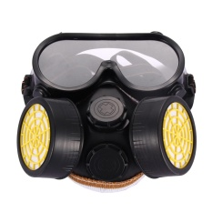 Jual Industri Gas Kimia Anti Debu Cat Respirator Mask Glasses Goggles Set Intl Di Tiongkok