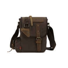 Toko Innturt Pria Wanita Messenger Shoulder Bag Canvas Sling Backpack Tas Pinggang Satchel Hiking Camping Bag Kopi Intl Online