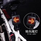 Cara Beli Cerdas Bike Bicycle Turn Lampu Sinyal Led Rear Tail Lamp Bersepeda Laser Light Usb 64 Led Cahaya Intl