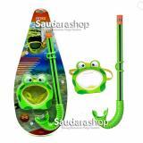 Intex 55940 Snorkel Anak Motif Kodok Kacamata Selam Anak Froggy Fun Set Murah