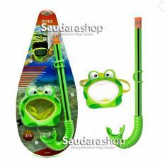 Spesifikasi Intex 55940 Snorkel Anak Motif Kodok Kacamata Selam Anak Froggy Fun Set Merk Intex