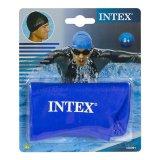 Intex 55991 Topi Renang Biru Swim Cap Blue Intex Diskon 30
