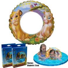 Rp 59.900. Intex 58258 Swim Ring Lion King 51cm / Pelampung Bulat Lion KingIDR59900. Rp 60.000. ORIGINAL!!! Ban Renang ...