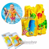 Promo Intex 59661 Fun Fish Inflatable Swim Vest Rompi Pelampung Renang Anak Akhir Tahun