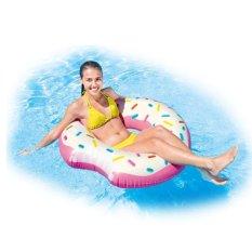 Promo Intex Swim Ring Donut Tube Pink Pelampung Ban Renang Anak Dewasa 59265 Dki Jakarta