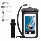 Ulasan Tentang Ipx8 Waterproof Case Multifungsi Waterproof Case Dengan Adjustable Armband Leher Lanyard Cocok Untuk Olahraga Air Best Water Proof Tahan Debu Tahan Salju Untuk Hampir Telepon Intl