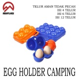 Harga Isi 6 Tempat Telur Egg Holder Bahan Tebal Packing Aman New