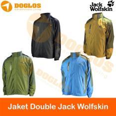 Jack Wolfskin 2 In 1 Jaket Double Layer Inner Polar Hiking Gunung Jws - A97B67