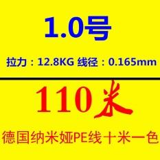 Delapan 8 encoding Dyneema Senar pancing pe Tali Pancing Jerman impor Benang .
