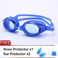 JIEYUHAN Wanita Wanita Anti-fog Protection Goggles untuk Mariner Optik Goggle (Biru)-Intl