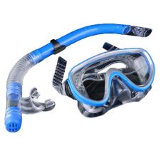 Jo. Di Kolam Renang Peralatan Selam Anti Kabut Kaca Mata Selam Scuba Menggunakan Snorkel Masker Kacamata (Biru)