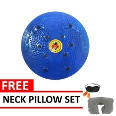 Spesifikasi Jogging Plate Blue Free Neck Pillow Set Bagus