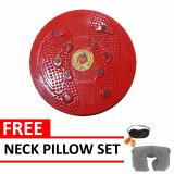 Jogging Plate Red Free Neck Pillow Set Quincy Sports Diskon 50