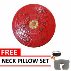 Jual Jogging Plate Red Free Neck Pillow Set Quincy Sports Grosir