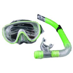 Jo In Kolam Renang Peralatan Selam Anti Kabut Kaca Mata Selam Scuba Snorkeling Kacamata Topeng Hijau International Promo Beli 1 Gratis 1