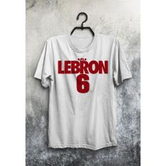 Jual Baju Kaos Basket Nba Lebron James Miami Heat King 6 Murah - 73Dbd5