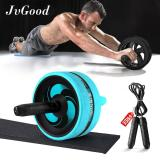 Perbandingan Harga Jvgood Ab Roller Wheels With Knee Pad Ab Carver Pro Roller Core Workouts Exercise Fitness With Jump Rope Knee Pad Wrist Band Jvgood Di Tiongkok
