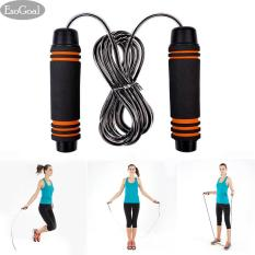 Spesifikasi Jvgood Jump Rope Fast Speed Counting Light Weight Steel Wire Cable For Boxing Mma Fitness Training