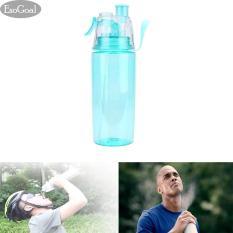 Harga Jvgood Leak Proof Sports Spray Mist Water Bottle Cooling Plastic Drinking Bottles For Workout Cycling Running Biking 600Ml Original