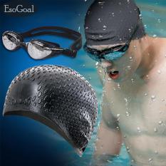 Ulasan Mengenai Jvgood Topi Renang Swimming Cap Kacamata Renang Dewasa Bebas Fogging