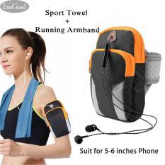 Beli Jvgood Sport Arm Band Armband Tas Lengan Keren Olahraga Dengan Handuk Sport Olahraga Handuk Microfiber Murah Tiongkok