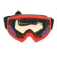 Kaca Mata Goggle Motocross LY-100 Trail Google LY100 Pelangi Rainbow