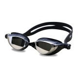 Spesifikasi Kacamata Renang Coating Mirrored Anti Fog Uv Protection Black
