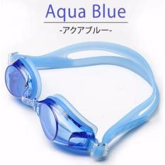 Jual Kacamata Renang Hd Profesional Anti Fog Lz 913 Blue Murah Indonesia